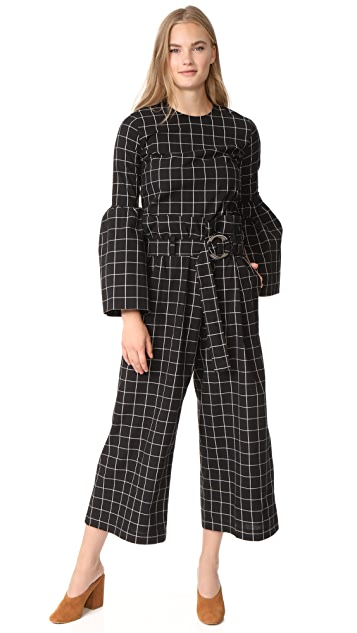 Rejina Pyo Tilly Belted Trousers