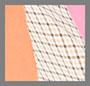 розовый креп/коралловый микс/в клетку