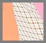 Crepe Pink/Coral Mix/Check