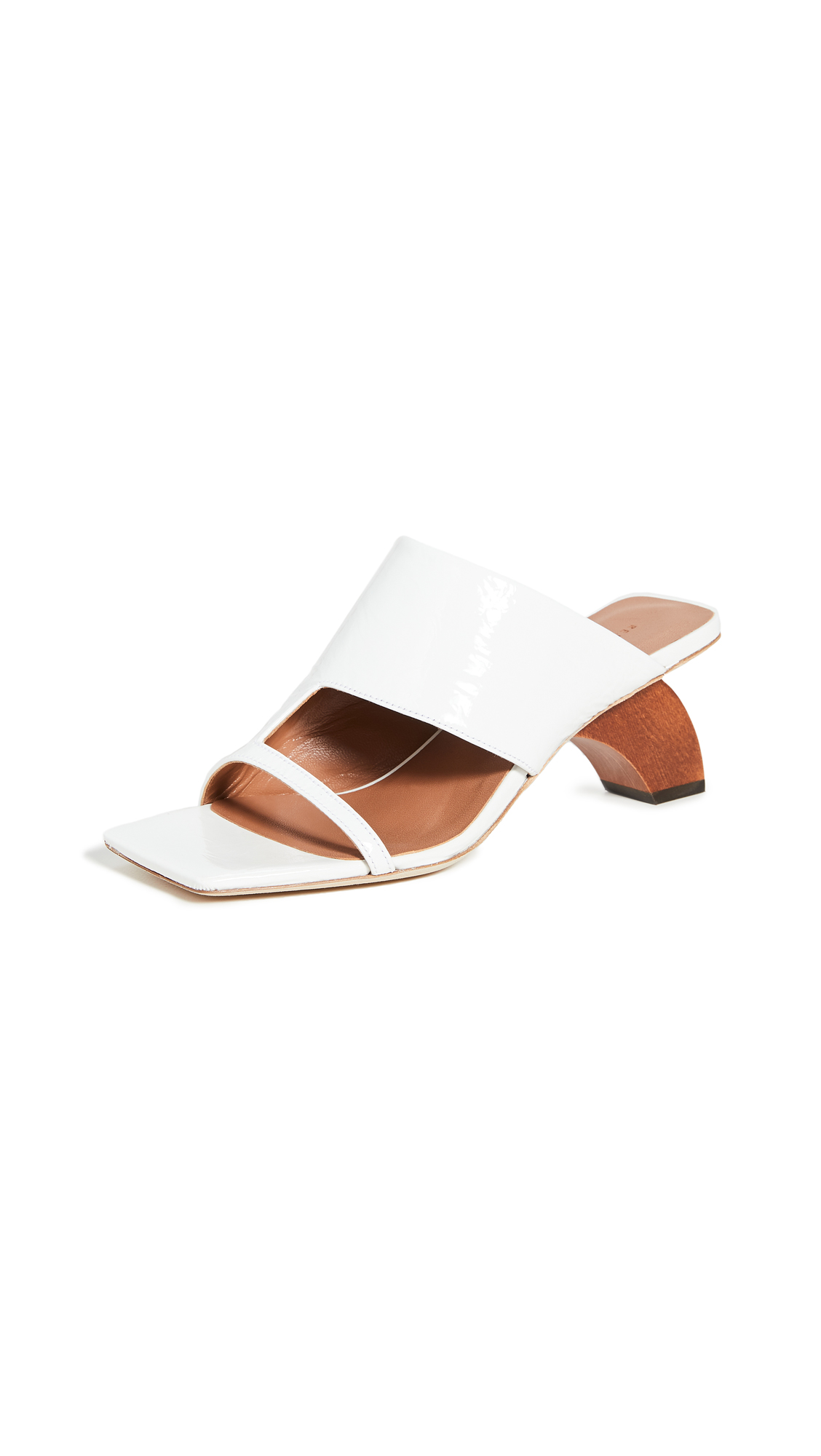 Rejina Pyo 60mm Leah Sandals - 40% Off Sale