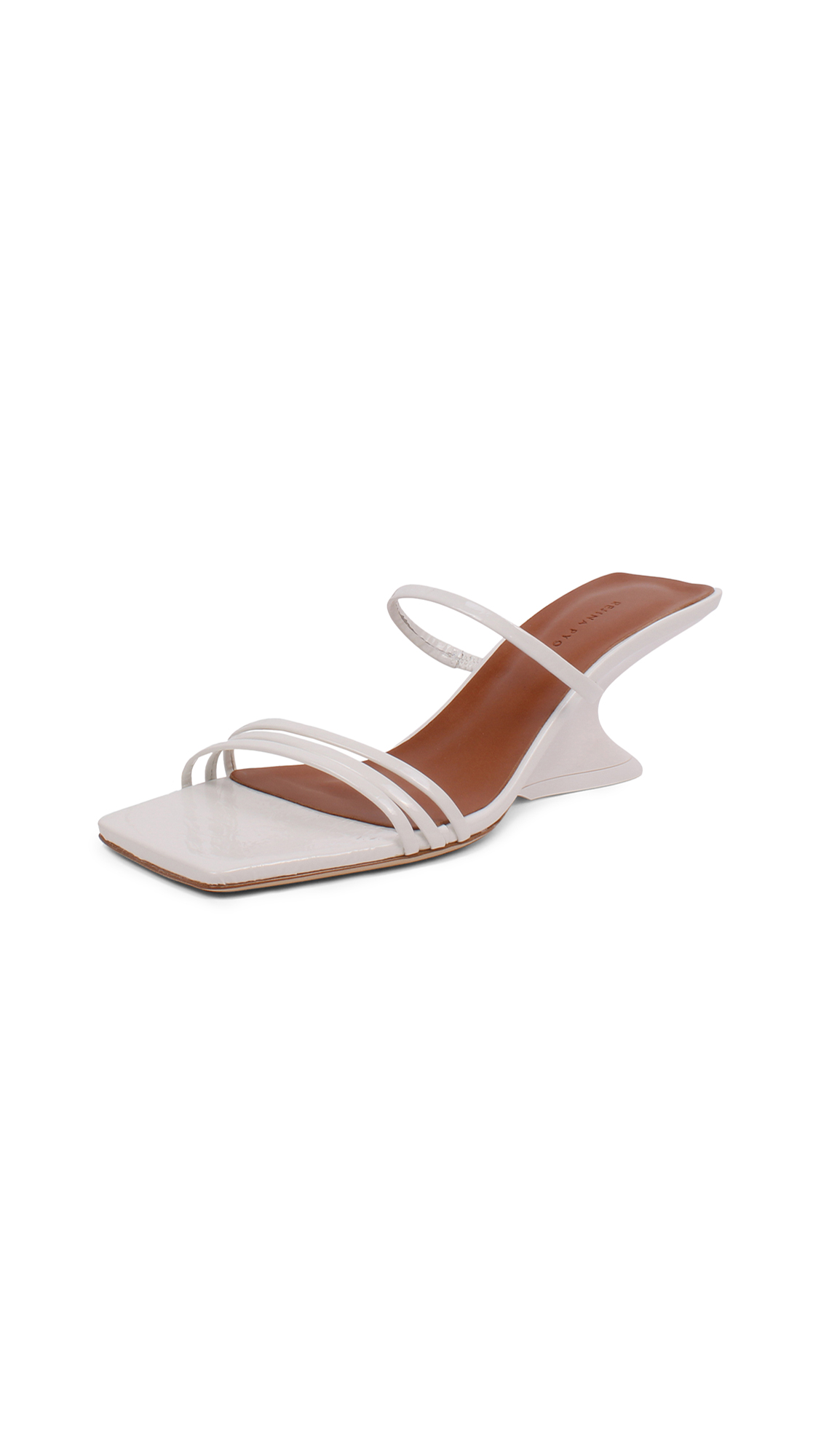 Photo of Rejina Pyo 60mm Romy Sandals - shop Rejina Pyo Sandals, Flat online