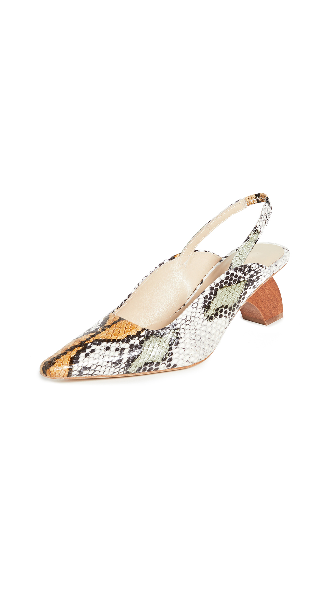 Rejina Pyo Dylan Slingbacks 60mm - 50% Off Sale