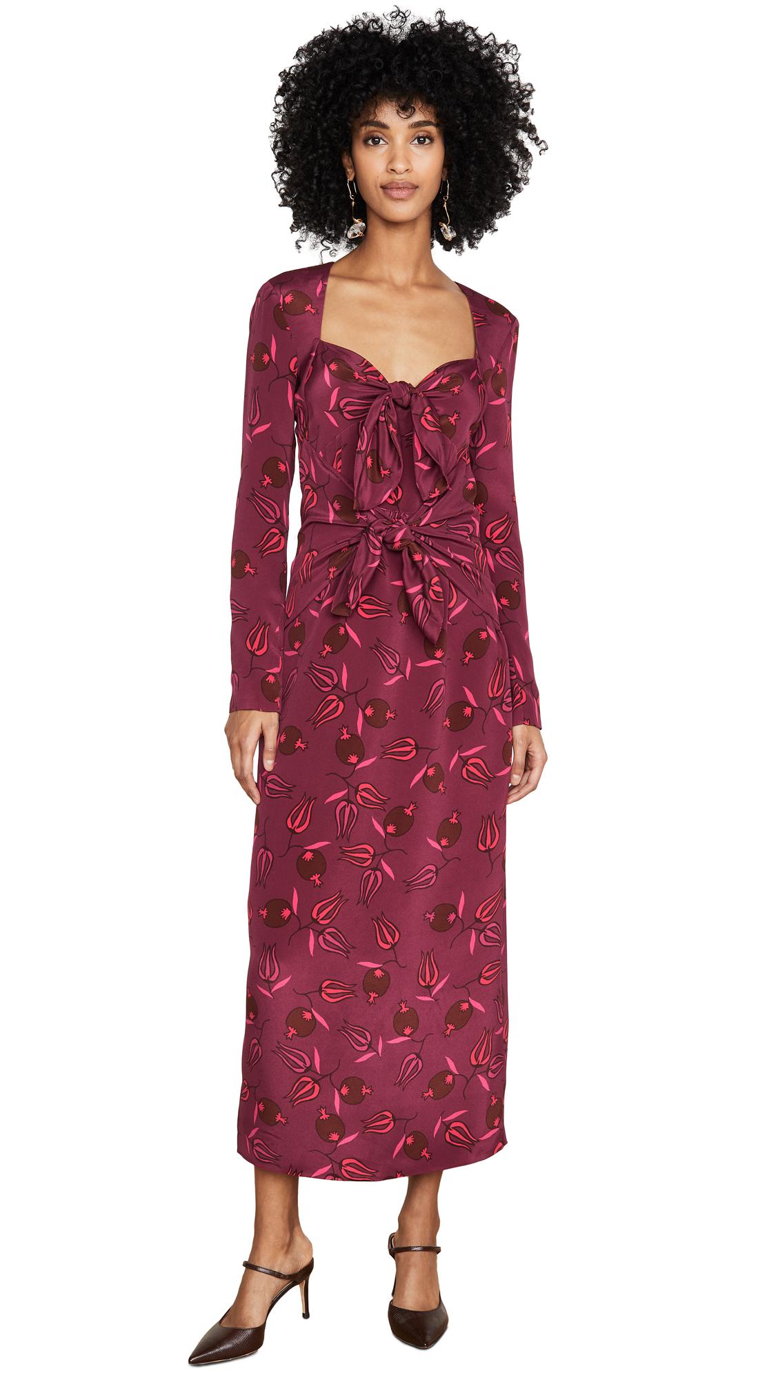Buy Rebecca De Ravenel online - photo of Rebecca De Ravenel Long Sleeve Zaza Dress