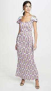 Rebecca De Ravenel Платье с бюстье Grace