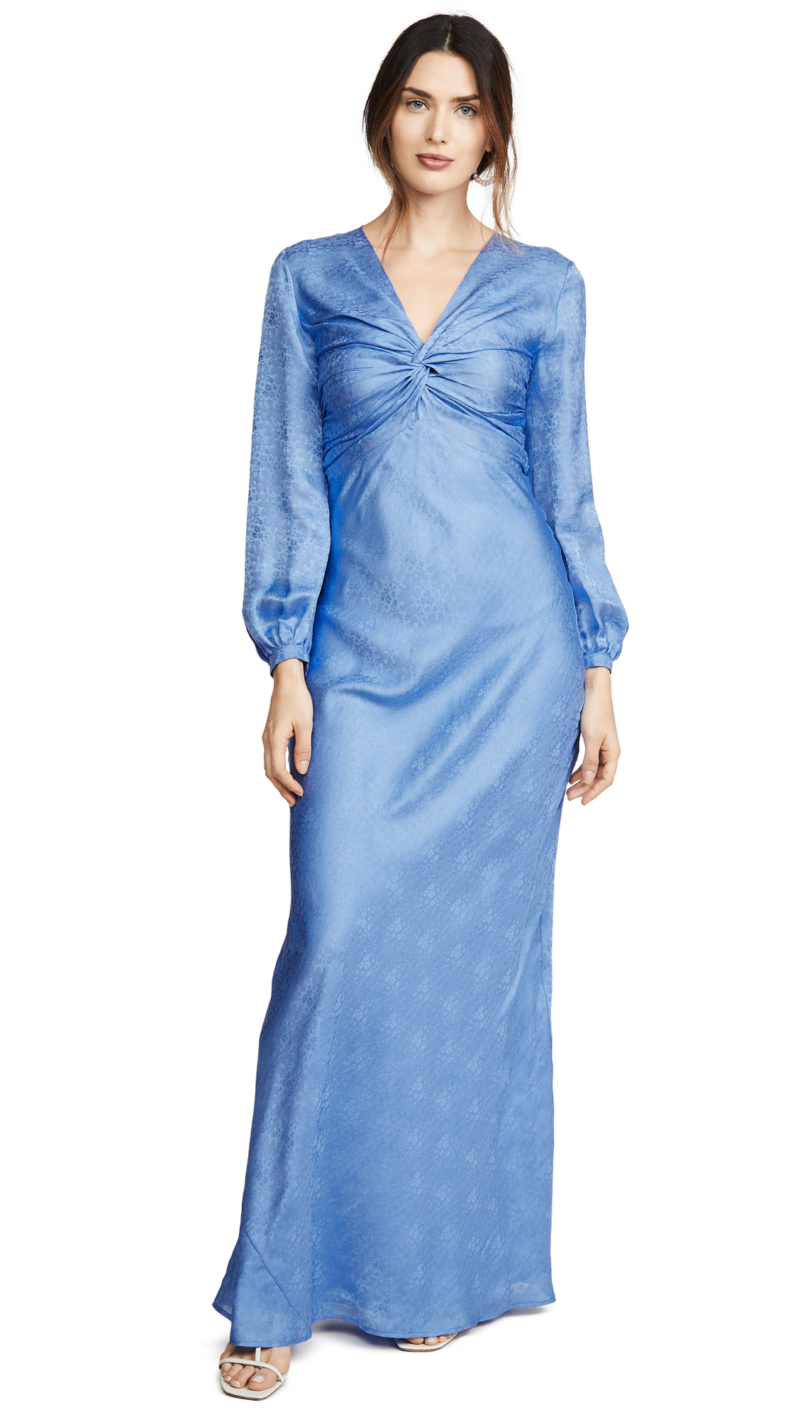 Rebecca De Ravenel Sienna Knotted Gown - 60% Off Sale