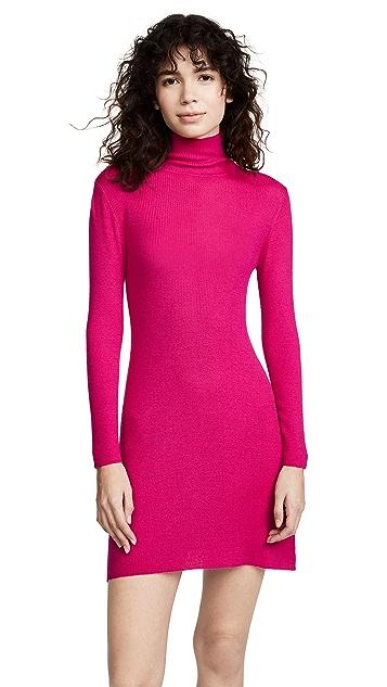 Ryan Roche Cashmere Turtleneck Sweater Dress