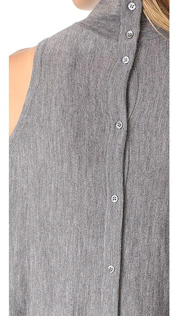 Robert Rodriguez Merino Sweater Cold Shoulder
