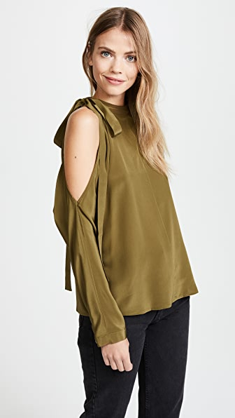 Robert Rodriguez Cold Shoulder Top