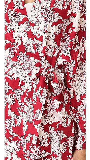 Robert Rodriguez Printed Robe