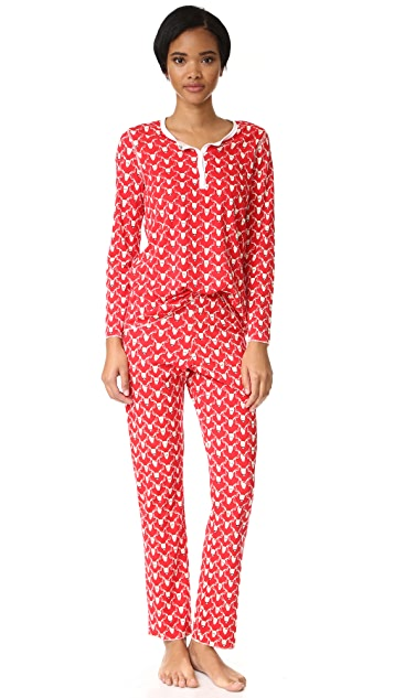 Roberta Roller Rabbit Deerest PJ Set