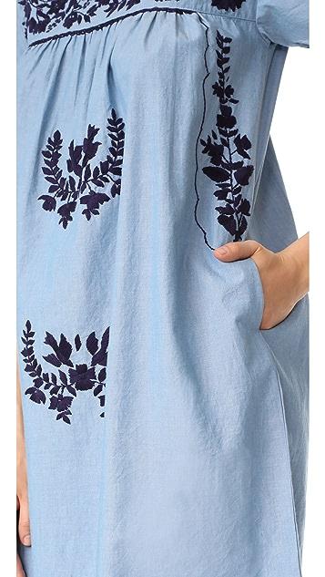 Roberta Roller Rabbit Parc Embroidered Dress