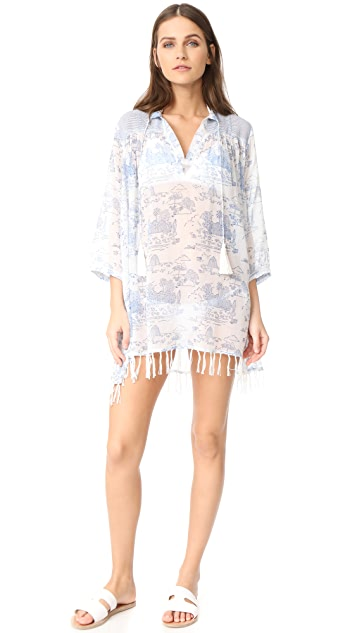 Roller Rabbit Serafina Tunic With Fringes