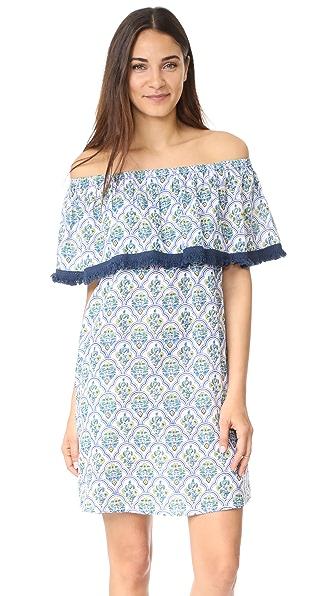 Roberta Roller Rabbit Priya Saloni Dress In Blue