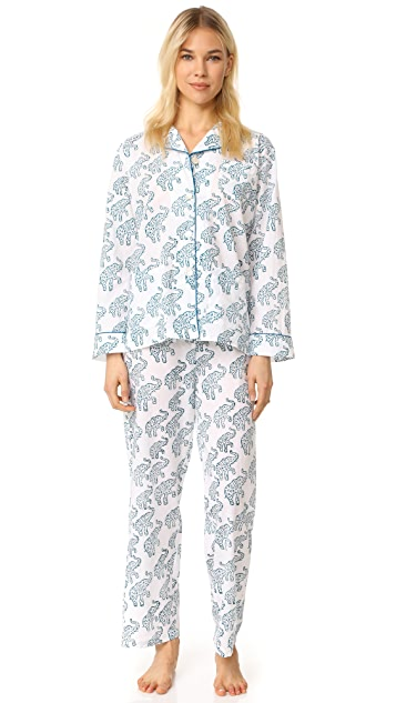 Roberta Roller Rabbit Elephants Hathiphool PJ Set