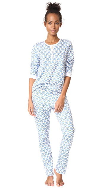 Roberta Roller Rabbit Franklin the Wolf PJ Set