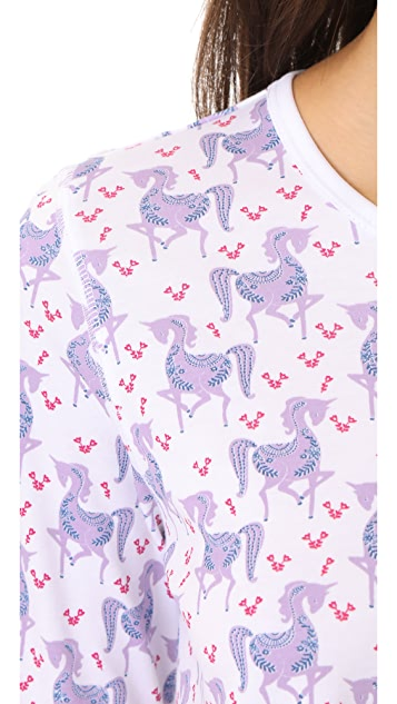 Roberta Roller Rabbit Gwen the Unicorn PJ Set