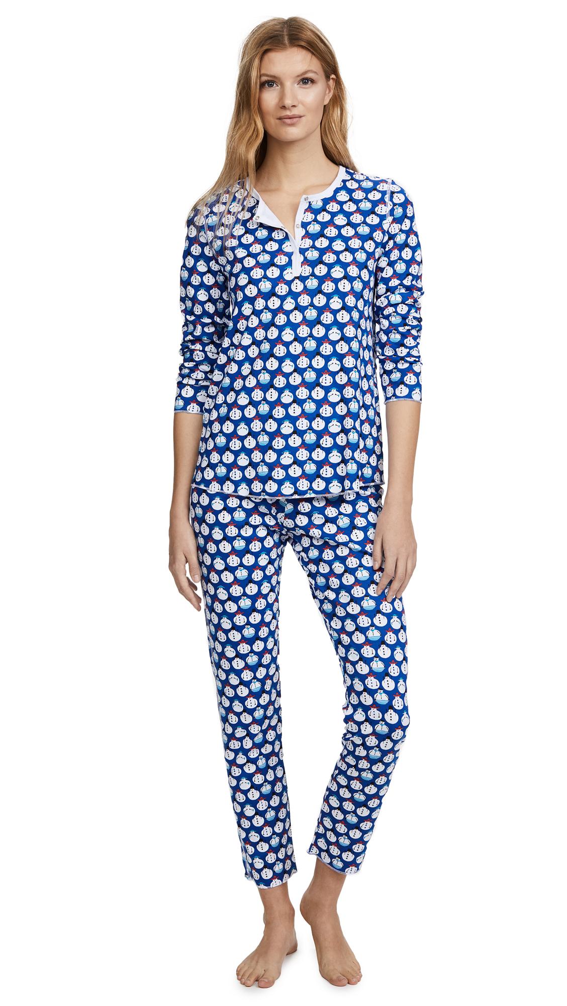 Roller Rabbit Loungewear Sno Global PJ Set