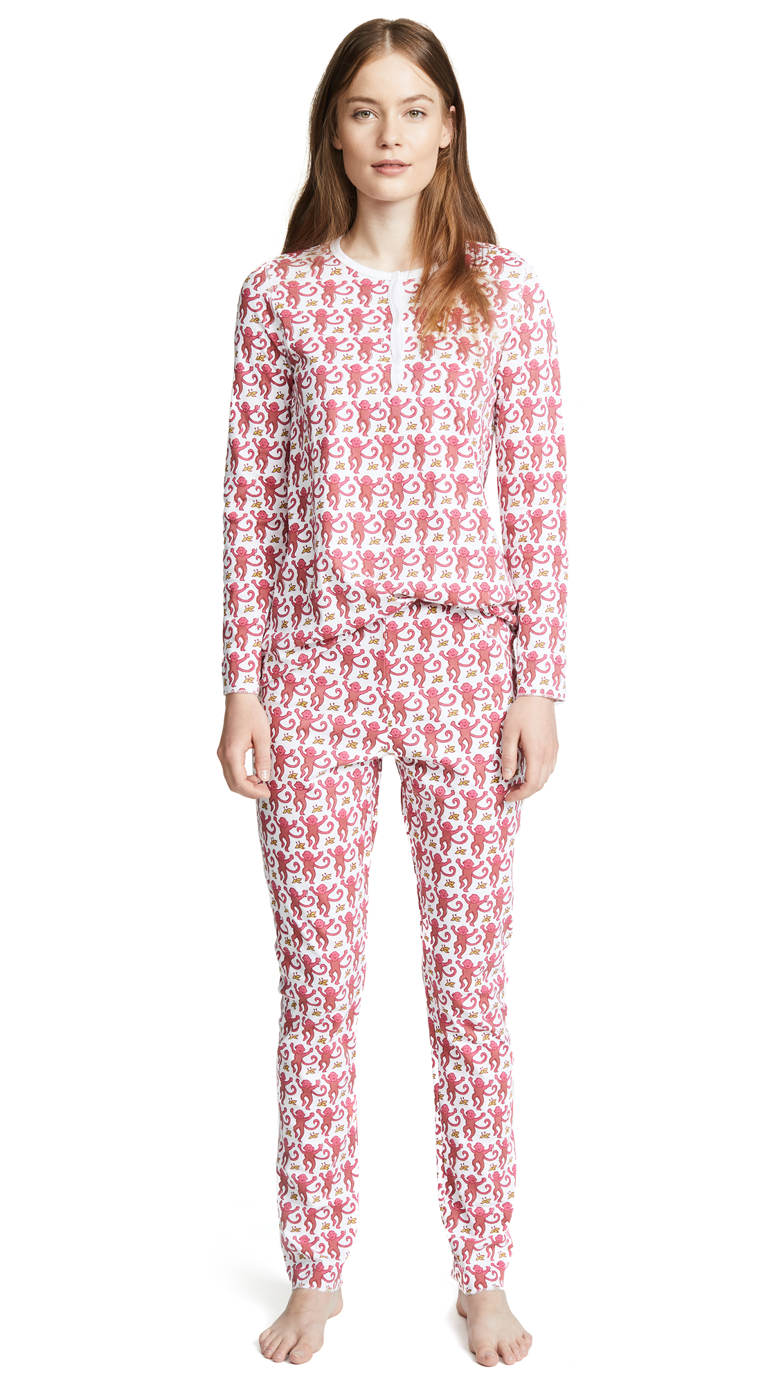 Buy Roller Rabbit online - photo of Roller Rabbit Monkey PJ Set