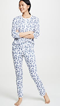 49e418d8d052 Roller Rabbit. Batik Bunny Pajamas
