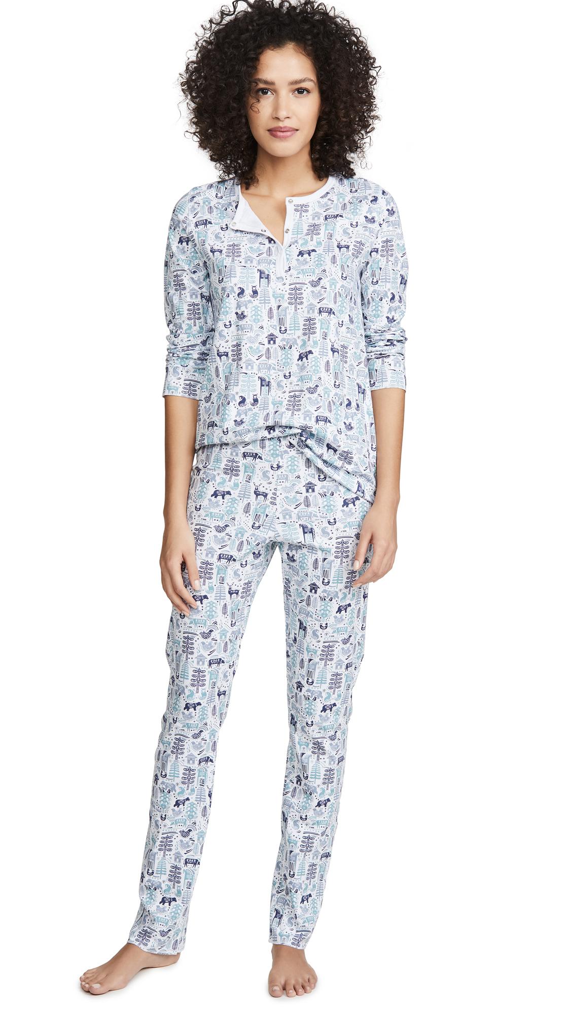 Buy Roller Rabbit online - photo of Roller Rabbit Nordic Folk Pajamas