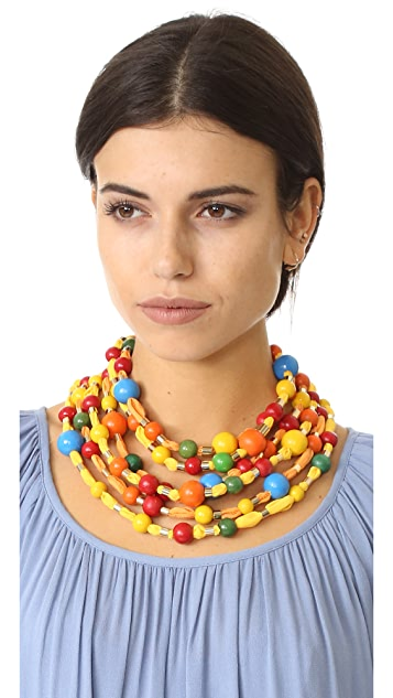 Rosantica Merida Multi Layer Necklace