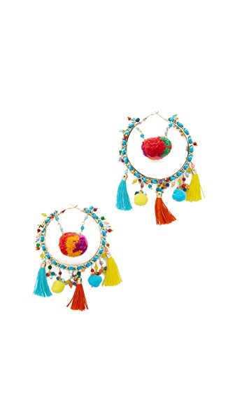 Rosantica Yucatan Earrings - Multi
