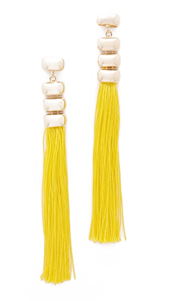 Rosantica Atena Earrings - Yellow/Gold
