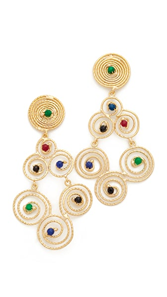 Rosantica Soffio Earrings - Multi