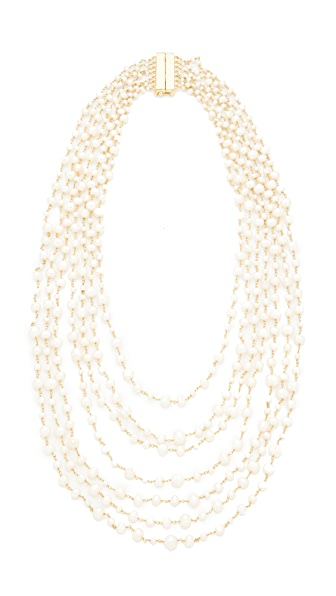 Rosantica Pegaso Necklace In Pearl White
