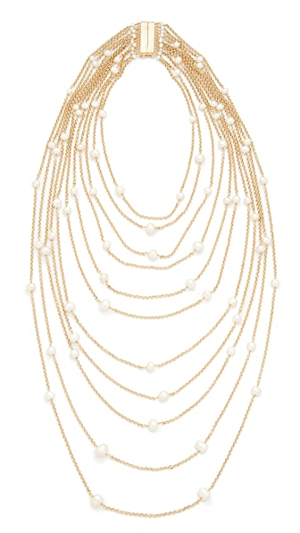 Rosantica Galassia Necklace - Pearl White
