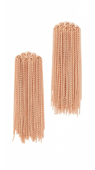 Rosantica Trama Earrings - Rose Gold