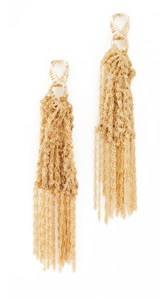 Rosantica Trama Earrings - Gold