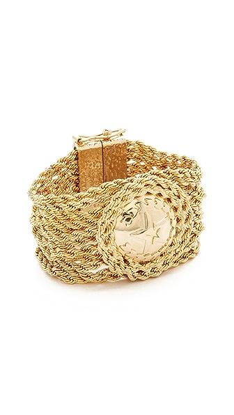 Rosantica Medallion Chain Bracelet - Gold