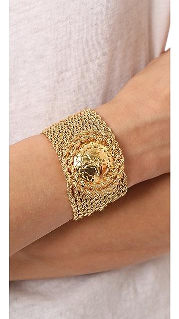 Rosantica Medallion Chain Bracelet