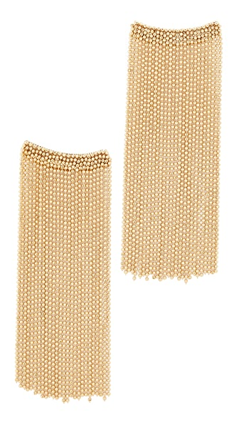 Rosantica Square Chain Dangle Earrings - Gold