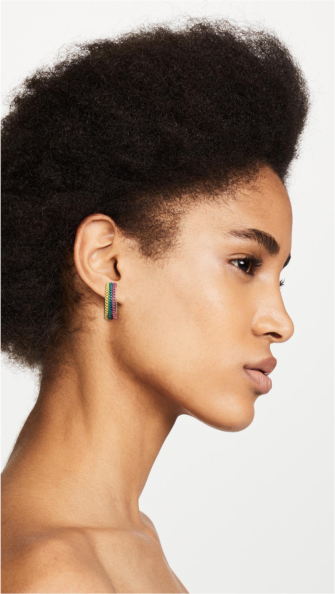 Rosantica Millefili Hoop Earrings xVSLh