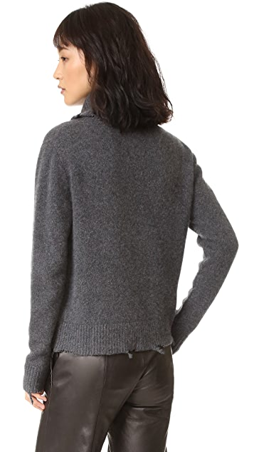 RtA Anuok Destroyed Cashmere Sweater