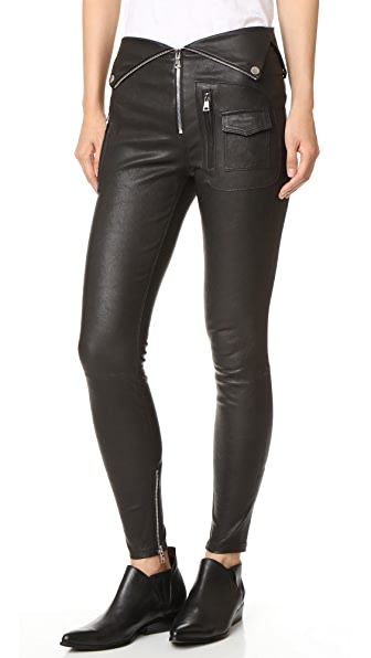 RtA Diavolina Leather Pants