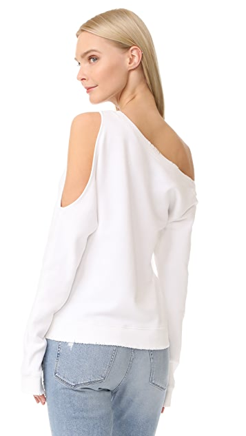 RtA Willow Cold Shoulder Sweater