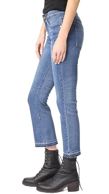 RtA Kiki Released Hem Jeans