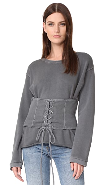RtA Colette Sweater - Space Grey