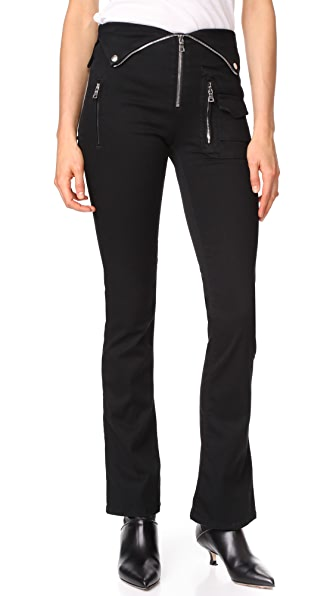 RtA Adrienne Jeans - Black Rinse
