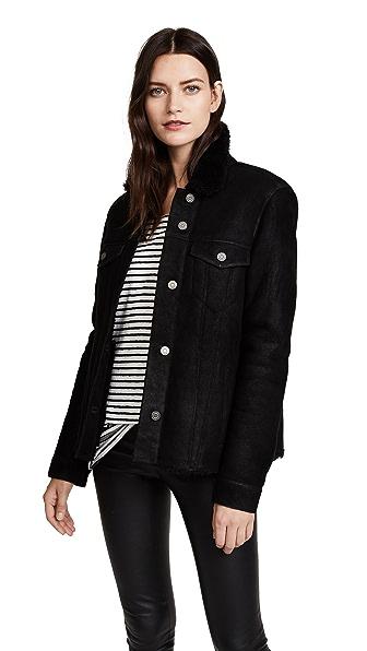 RtA Harmony Jacket In Noir
