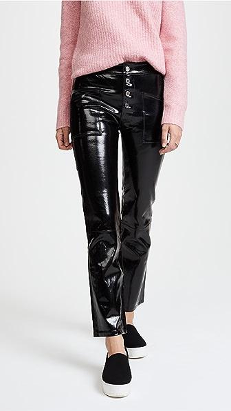 RtA Theadora Patent Leather Pants