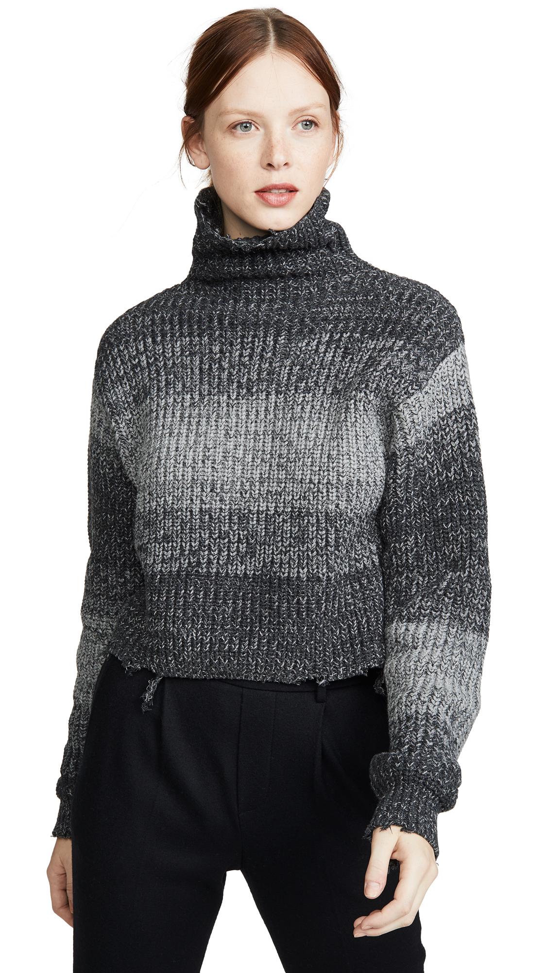 Buy RtA online - photo of RtA Beau Turtleneck Sweater