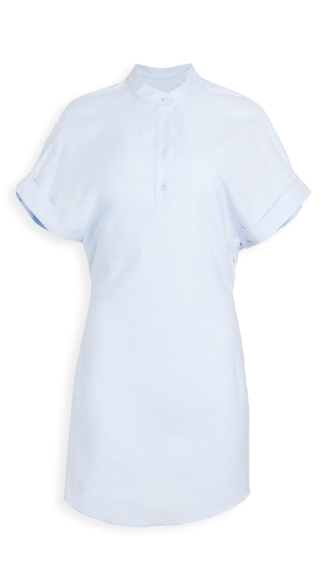 RtA Leigh Half Button Shirt Dress - 30% Off Sale