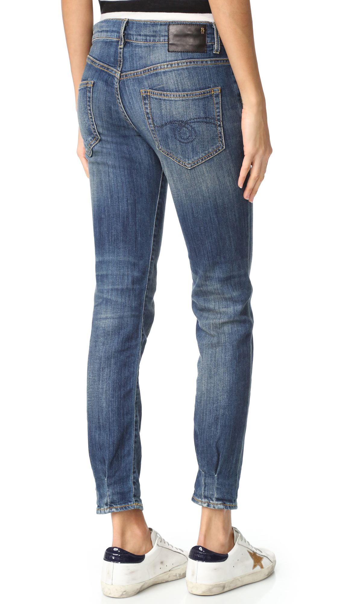 c65553b4c27512 R13 Relaxed Skinny Jeans | SHOPBOP