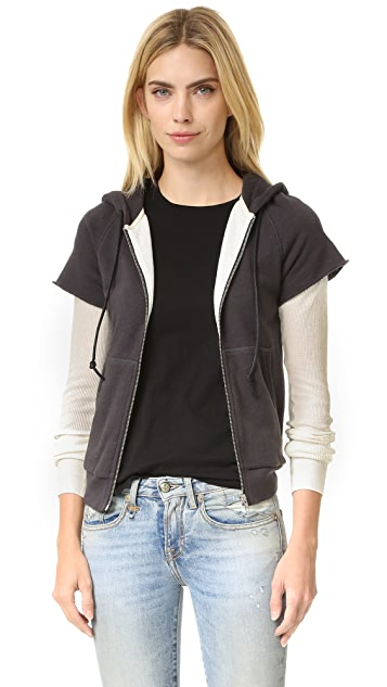 R13 Double Layered Thermal Hoodie