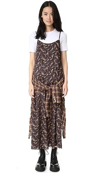 R13 Grunge Slip Dress