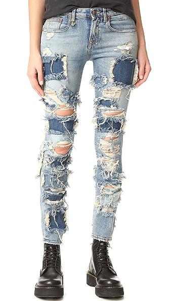 R13 Alison Crop Jeans